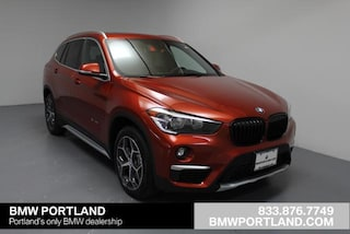 New 2018 BMW X1 Xdrive28i Sports Activity Vehicle Sport Utility Portland, OR