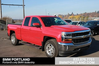 2018 Chevrolet Silverado 1500 Extended Cab Pickup 4WD Double Cab 143.5 LT w/1LT
