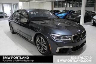 New 2019 BMW 7 Series M760i Xdrive Sedan Car Portland, OR