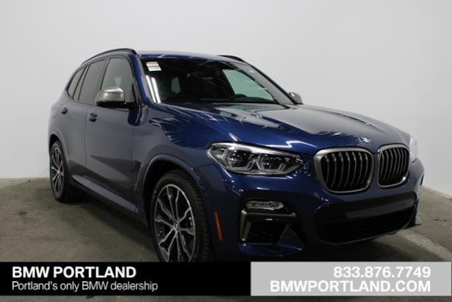 New 2019 BMW X3 M40i Sports Activity Vehicle Sport Utility Portland, OR
