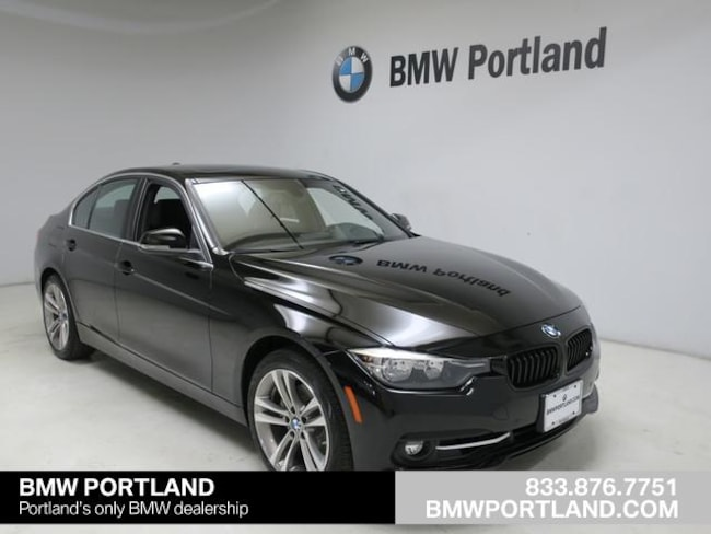 Certified Pre-Owned 2017 BMW 3 Series Car 330i Sedan Portland, OR