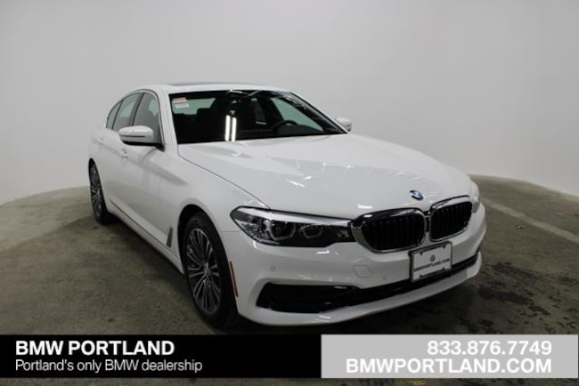 New 2019 BMW 5 Series 530i xDrive Sedan Car Alpine White