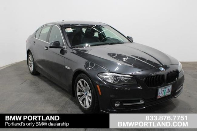 Certified Pre-Owned 2016 BMW 5 Series Car 4dr Sdn 528i xDrive AWD Portland, OR