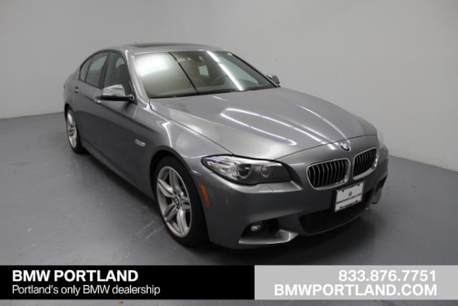 Used 2014 BMW 5 Series Car 4dr Sdn 535d RWD Portland, OR