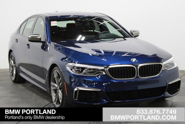New 2020 BMW 5 Series M550i xDrive Sedan Car Portland, OR