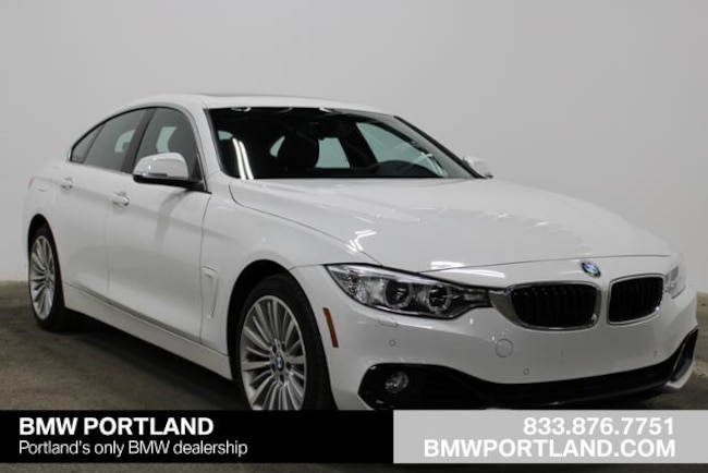 Certified Pre-Owned 2016 BMW 4 Series Car 4dr Sdn 428i Xdrive AWD Gran Coupe Portland, OR