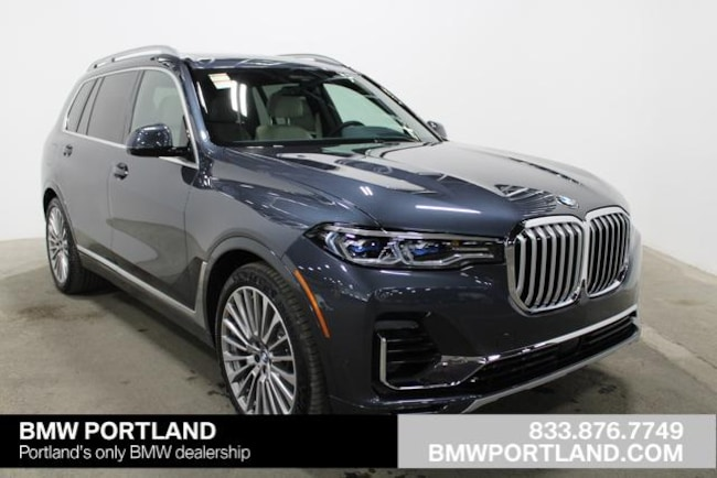 New 2019 BMW X7 xDrive50i Sports Activity Vehicle Sport Utility Portland, OR