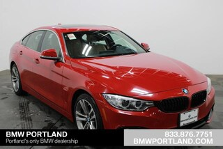 Certified Pre-Owned 2017 BMW 4 Series Car 440i Gran Coupe Portland, OR