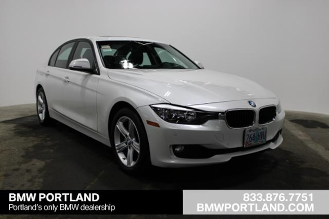 Certified Pre-Owned 2015 BMW 3 Series Car 4dr Sdn 328i RWD Sulev Portland, OR