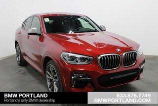 New 2020 BMW X4 M40i Sports Activity Coupe Sport Utility Portland, OR