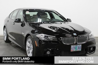 Certified Pre-Owned 2016 BMW 5 Series Car 4dr Sdn 550i xDrive AWD Portland, OR