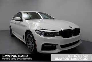 New 2018 BMW 5 Series 540i Sedan Car Portland, OR