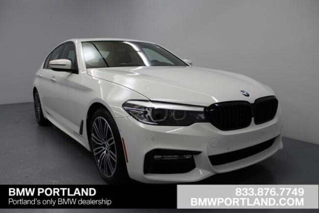 New 2018 BMW 5 Series 540i Sedan Car Portland, OR