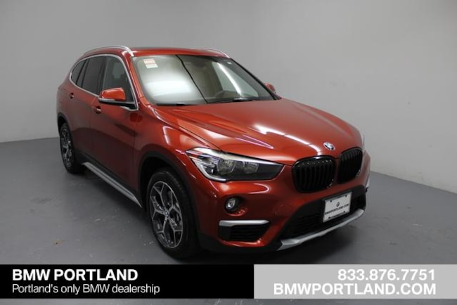 Used 2018 BMW X1 Sport Utility xDrive28i Sports Activity Vehicle Portland, OR