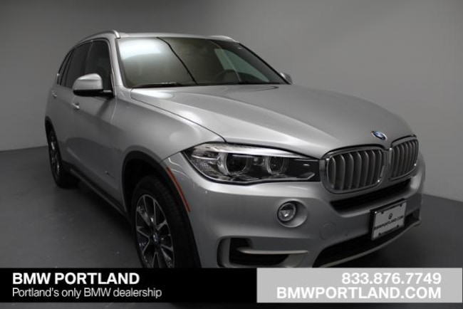 New 2018 BMW X5 Xdrive35i Sports Activity Vehicle Sport Utility Portland, OR