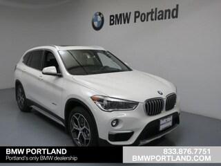 Certified Pre-Owned 2017 BMW X1 SAV xDrive28i Portland, OR