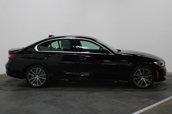 New 2019 BMW 3 Series 330i xDrive Sedan North America Car Jet Black
