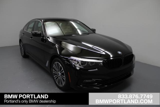 New 2018 Bmw 5 Series 530i Xdrive Sedan Car Jet Black For Sale In