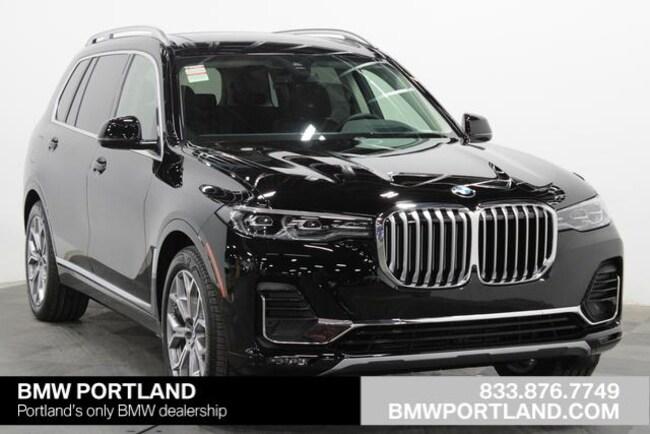 New 2019 BMW X7 xDrive40i Sports Activity Vehicle Sport Utility Portland, OR