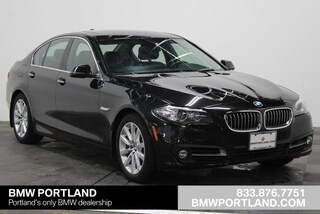 Certified Pre-Owned 2016 BMW 5 Series Car 4dr Sdn 535d RWD Portland, OR
