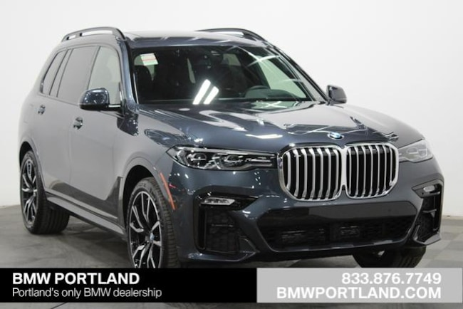 New 2019 BMW X7 xDrive40i Sports Activity Vehicle Sport Utility Portland, OR