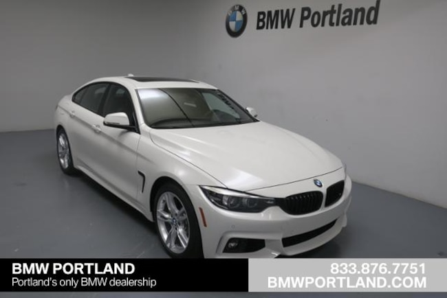 Used 2018 BMW 4 Series Car 440i Gran Coupe Portland, OR