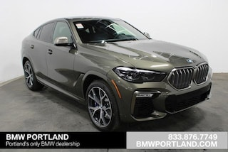 New 2020 BMW X6 M50i Sports Activity Coupe Sport Utility Portland, OR