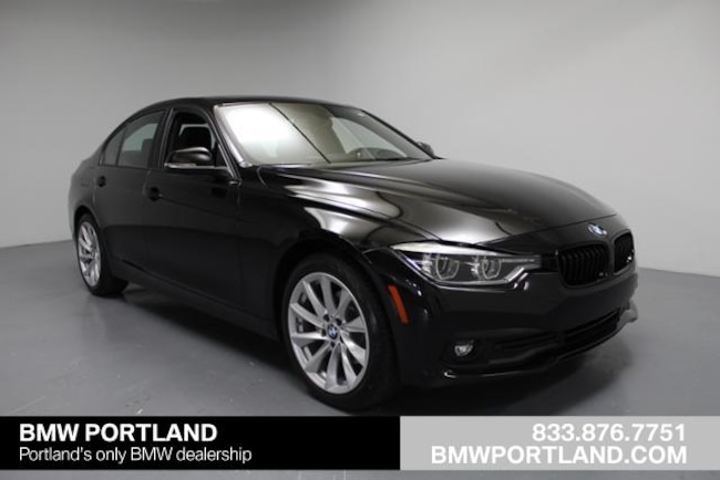 Certified Pre-Owned 2018 BMW 3 Series Car 320i Xdrive Sedan Portland, OR
