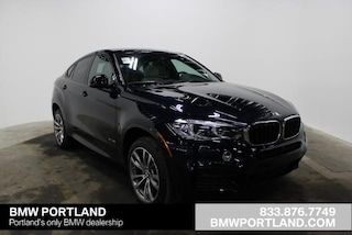 New 2019 BMW X6 xDrive35i Sports Activity Coupe Sport Utility Portland, OR