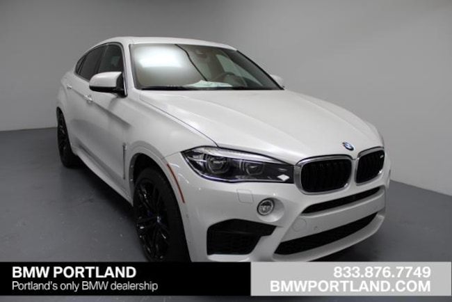 New 2018 BMW X6 M Sports Activity Coupe Sport Utility Portland, OR