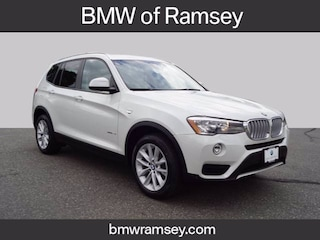 Certified 2017 BMW X3 xDrive28i SAV For Sale in Ramsey
