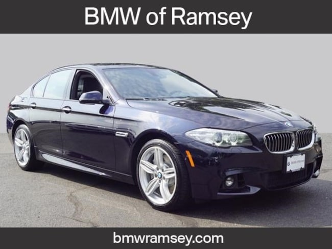 Bmw 535I Xdrive >> Pre Owned 2016 Bmw 535i For Sale At Bmw Of Ramsey Vin Wba5b3c51gg258535