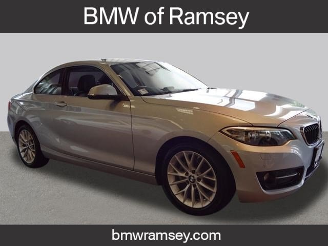 Bmw 228I Xdrive >> Pre Owned 2016 Bmw 228i For Sale At Bmw Of Ramsey Vin Wba1g9c57gv599890