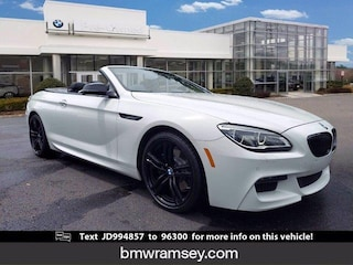 2018 BMW 640i xDrive Convertible in [Company City]