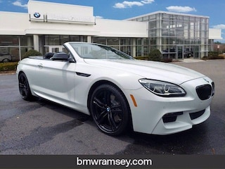 Certified 2018 BMW 640i xDrive Convertible For Sale in Ramsey