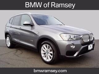 Certified 2017 BMW X3 xDrive28i SAV For Sale in Ramsey