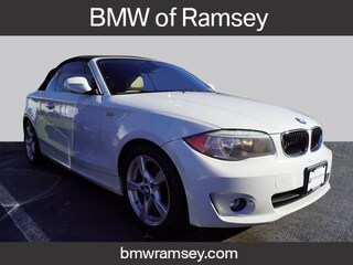 Certified 2013 BMW 128i Convertible For Sale in Ramsey