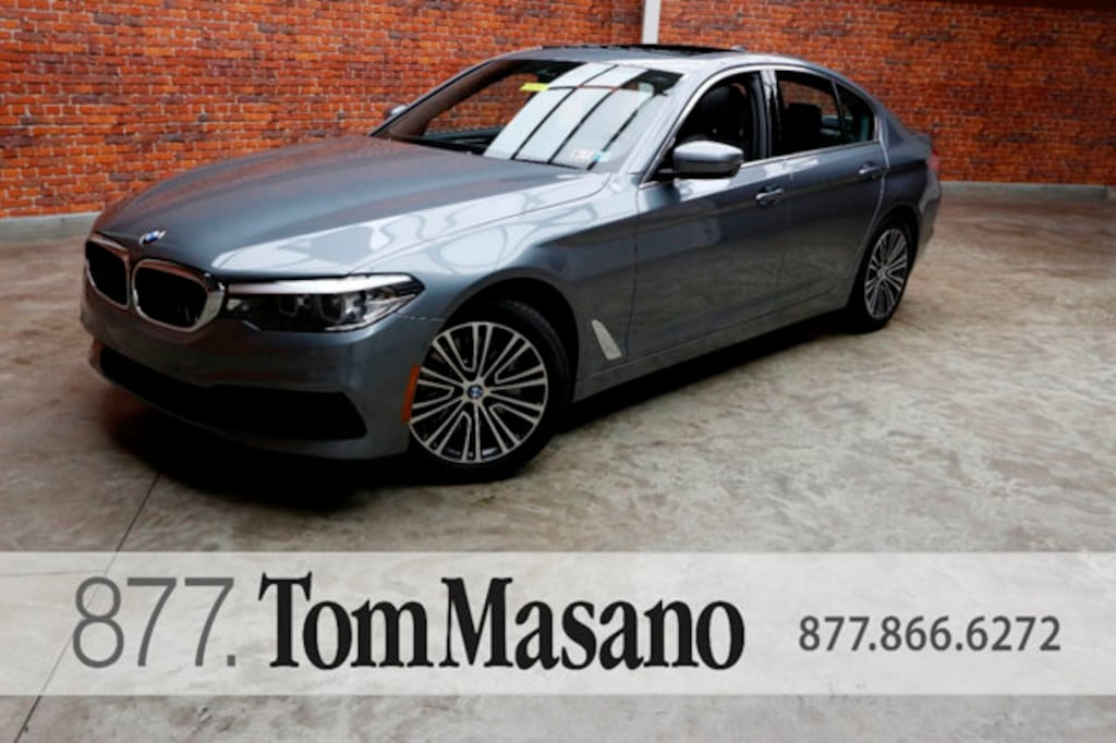 Tom Masano Used Cars >> Used 2019 Bmw 5 Series For Sale At Tom Masano Auto Group Vin