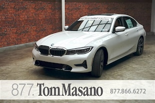 2020 BMW 3 Series 330i xDrive w/ Sport Line, Premium, Parking Assist Pkgs Sedan