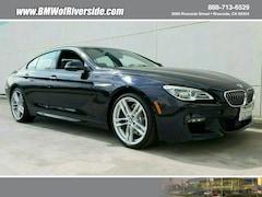2017 BMW 6 Series 640I Gran Coupe Gran Coupe
