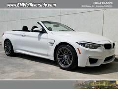 2018 BMW M4 Convertible Convertible