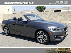 Used 2016 BMW 228i Convertible WBA1K9C5XGV322830 in Ontario, CA