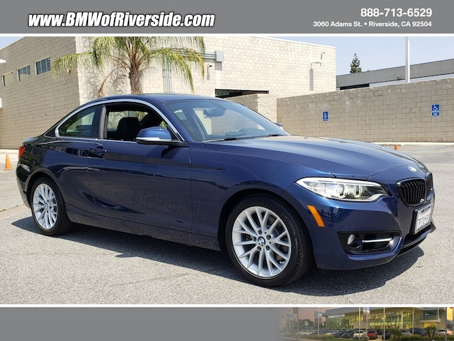 Certified Pre-Owned 2016 BMW 228i w/SULEV Coupe in Greater Ontario, CA