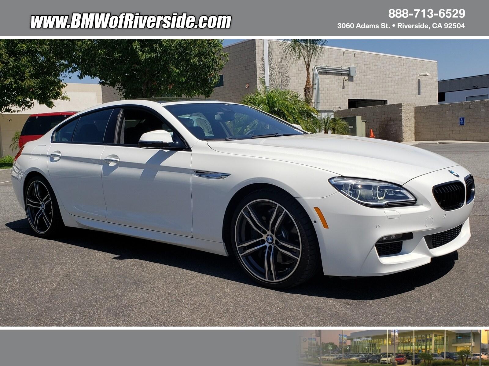 2018 BMW 6 Series 650I Gran Coupe Xdrive Gran Coupe