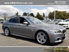 Certified 2016 BMW 535i Sedan WBA5B1C59GG552429 in Ontario, CA