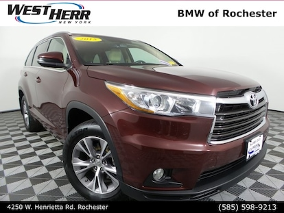 2015 Toyota Highlander For Sale >> Used 2015 Toyota Highlander For Sale In The Buffalo Ny Area West Herr Auto Group Br19l227a