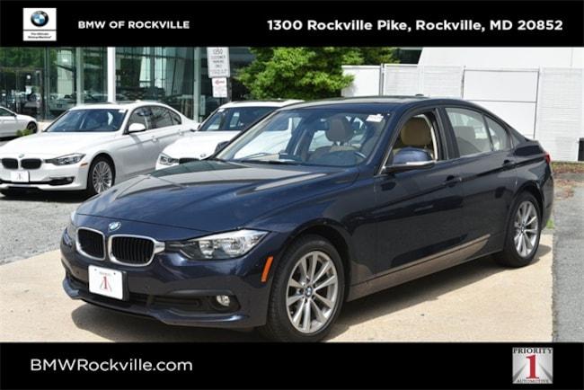 Bmw 320I Xdrive >> Used 2016 Bmw 320i Xdrive For Sale In Rockville Md Wba8a3c50gk551355