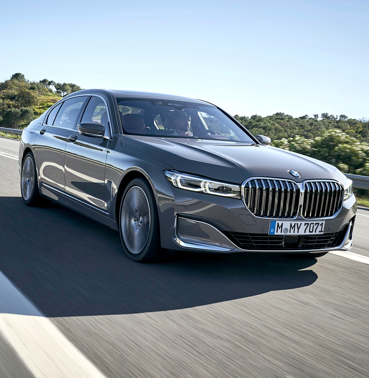 Model Features of the 2020 BMW 7 Series at BMW of Rockville | Man driving BMW 2020 7 Series