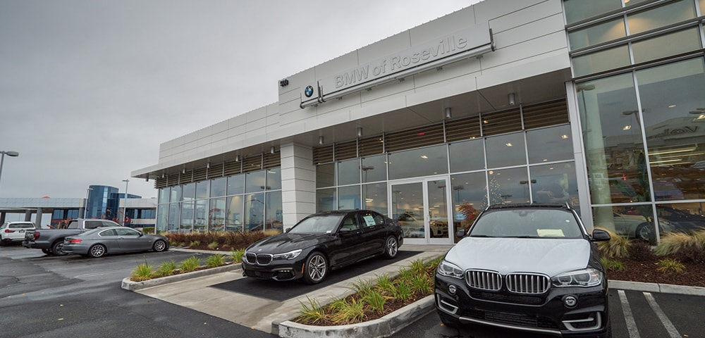 Exterior view of BMW of Roseville serving Citrus Heights