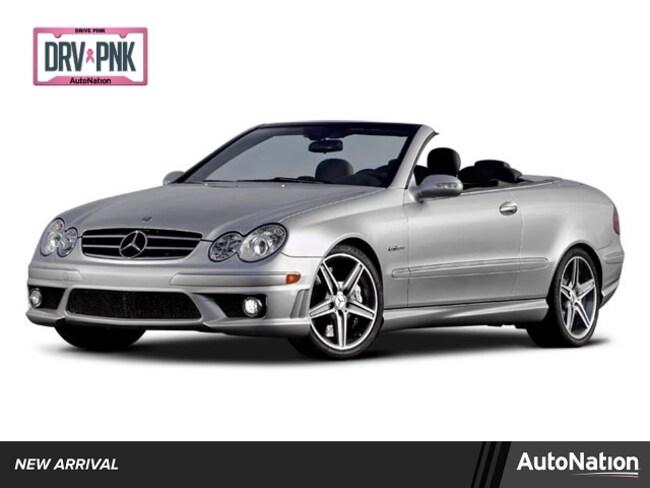 2008 Mercedes-Benz CLK-Class Base Convertible